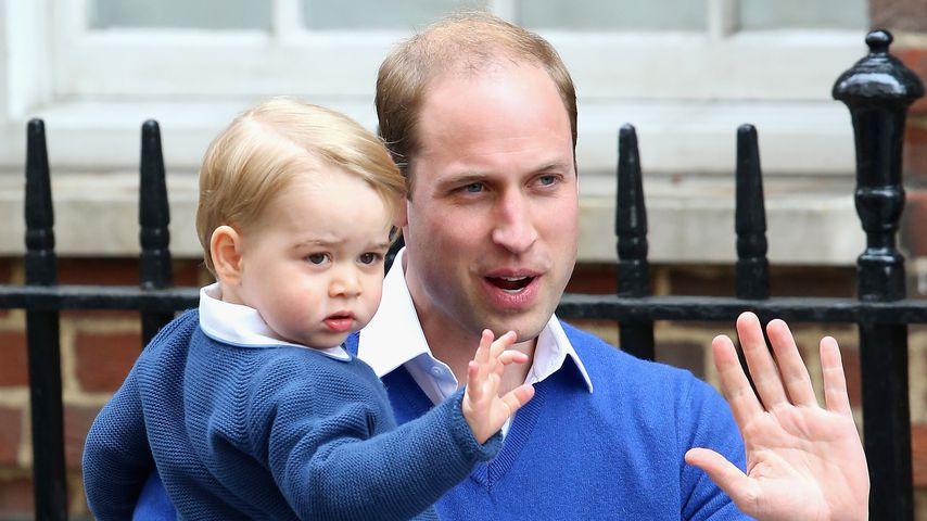 Prinz William und Prinz George, Mai 2015