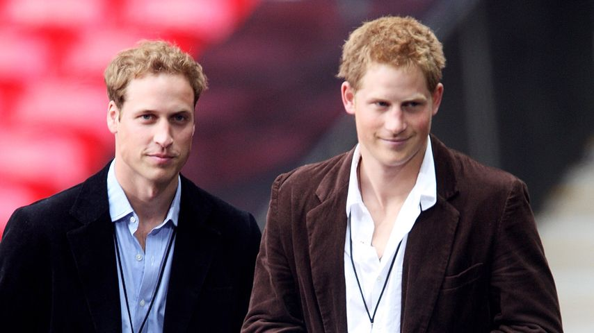 Prinz William und sein Bruder Harry