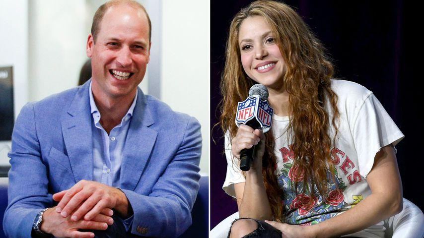 Prinz William ist neidisch auf Shakiras Skateboard-Skills!