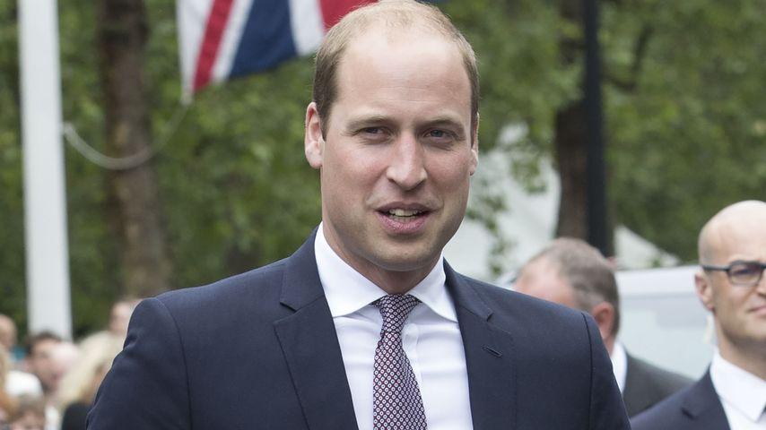 """Prinz William beim """"Patron's Lunch"""" anlässlich dem 90. Geburtstag der Queen"""