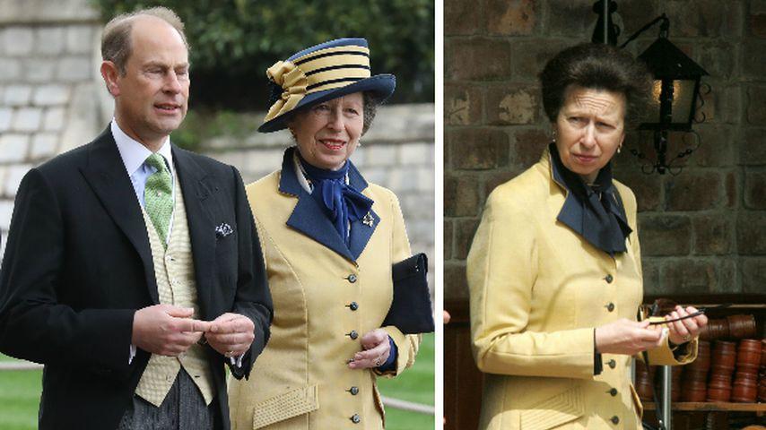 Herzogin Kates Vorbild? Auch Prinzessin Anne recycelt Mantel