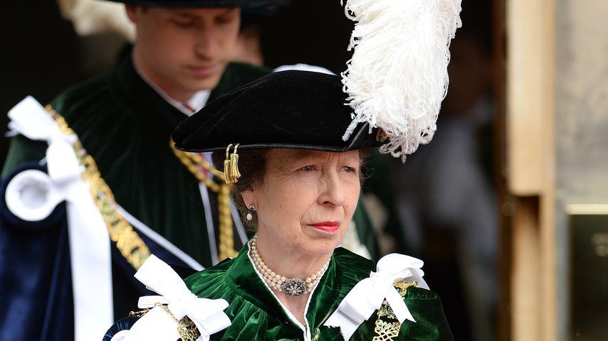 Prinzessin Anne, Schwester von Prinz Charles