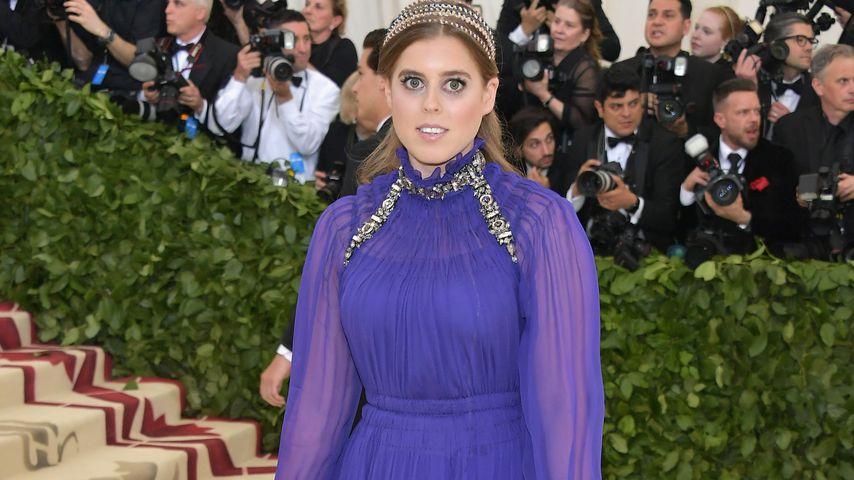 Kurz vor Hochzeit: Prinzessin Beatrice strahlt bei Met Gala!