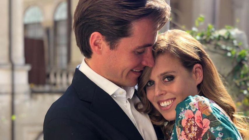 Edoardo Mapelli Mozzi und Prinzessin Beatrice im September 2019