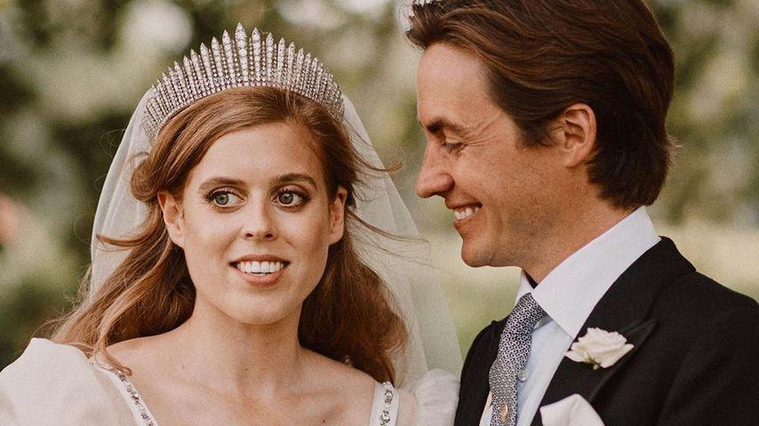 Prinzessin Beatrice und Edoardo Mapelli Mozzi an ihrem Hochzeitstag