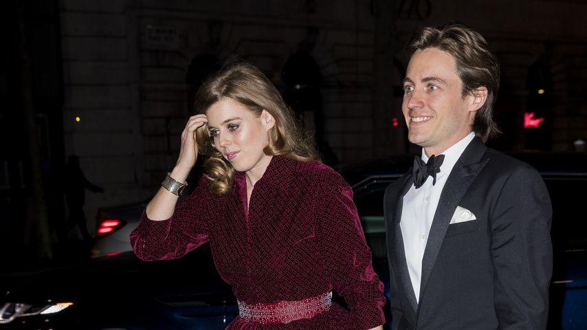 Prinzessin Beatrice und Edoardo Mapelli Mozzi bei einer Gala im März 2019