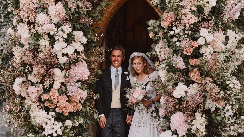 Prinzessin Beatrice und Edoardo Mapelli Mozzi bei ihrer Hochzeit im Juli 2020