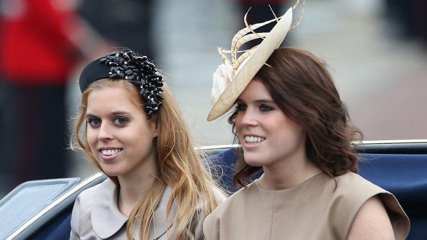 Prinzessin Beatrice und Prinzessin Eugenie im Juni 2015