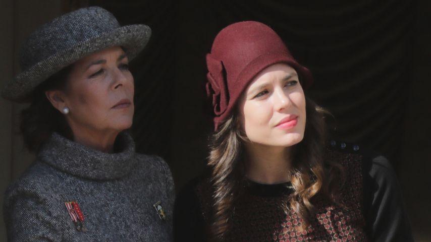 Prinzessin Caroline von Hannover und Charlotte Casiraghi im November 2017