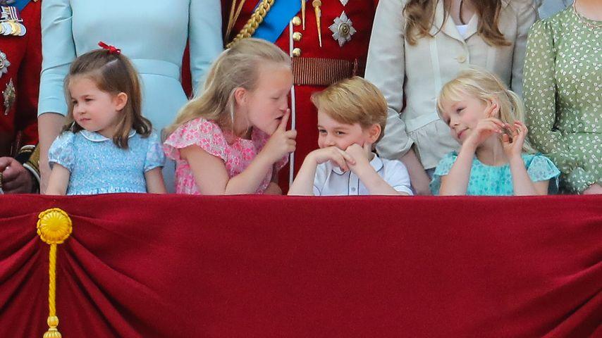 "Prinzessin Charlotte, Savannah Phillips, Prinz George und Isla Phillips bei ""Trooping the Colour"" 20"