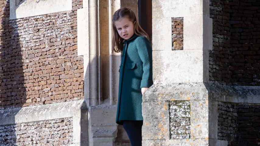 Prinzessin Charlotte an der St. Mary Magdalena Kirche in Sandringham