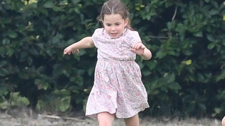 Prinzessin Charlotte im Juli 2019 in Wokingham (Großbritannien)
