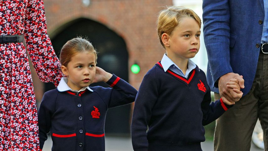 Prinzessin Charlotte und Prinz George in London, 2019