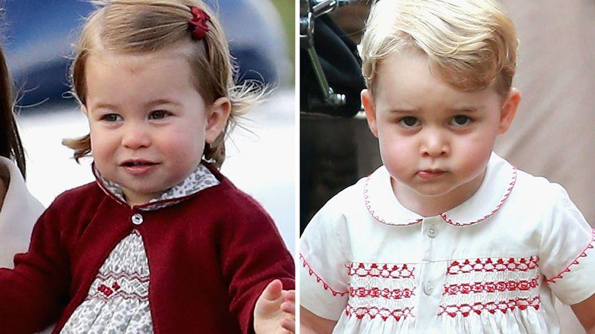 """Warum das?! Prinzessin Charlotte ist """"wertvoller"""" als George"""