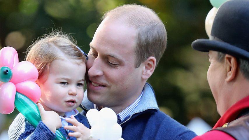 Prinzessin Charlotte und Prinz William