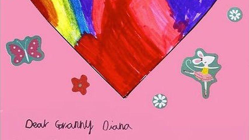 Prinzessin Charlottes Muttertagskarte für Prinzessin Diana