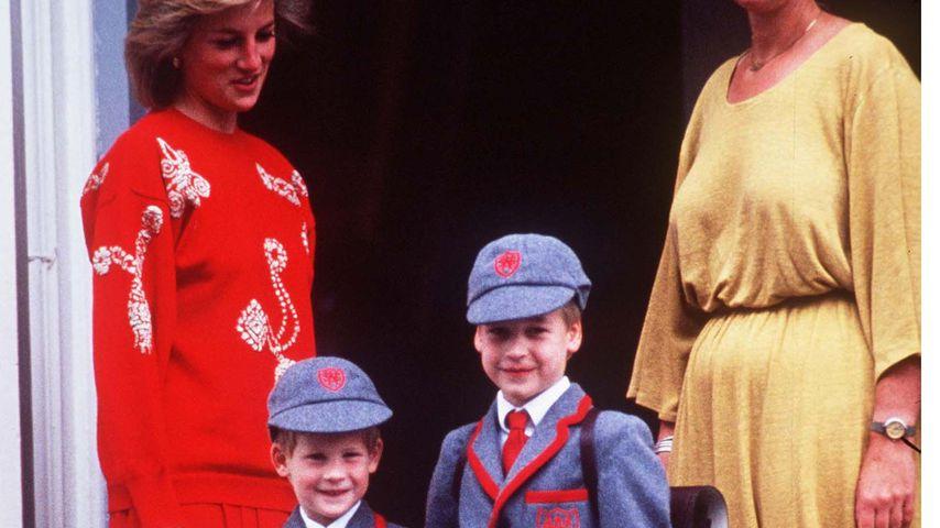 Harry & William: Darüber sprach Prinzessin Diana am meisten
