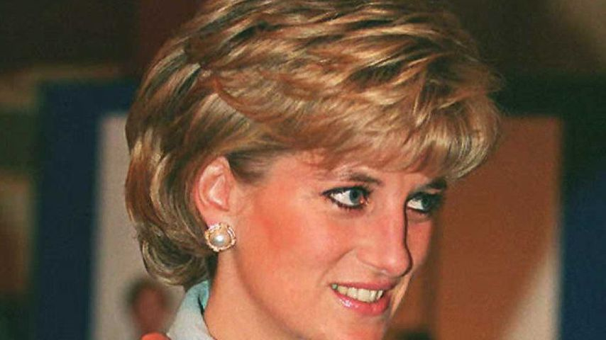 Prinzessin Diana im Hilton Hotel in London 1995