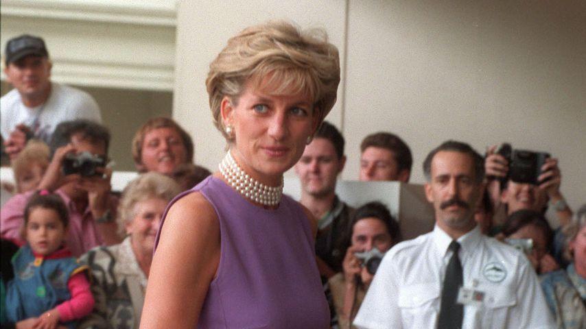 Prinzessin Diana im Jahr 1996