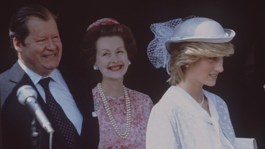 Nach kurzer Krankheit: Prinzessin Dianas Stiefmutter ist tot