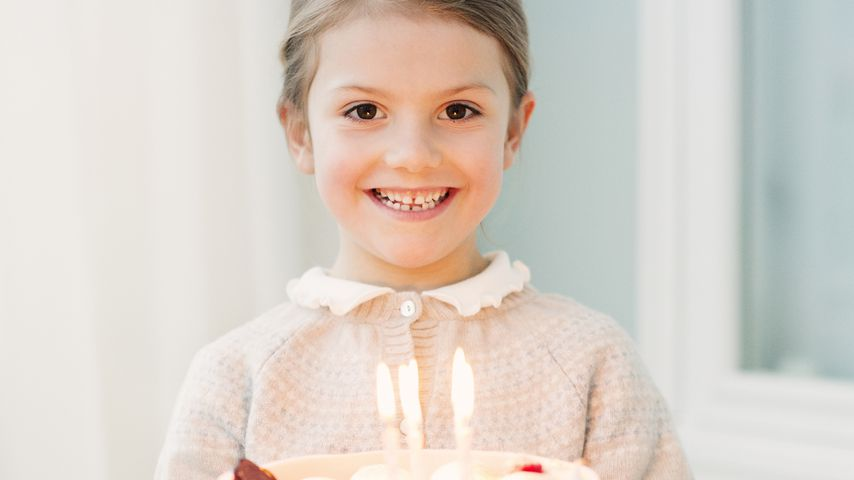 Prinzessin Estelle von Schweden an ihrem 6. Geburtstag