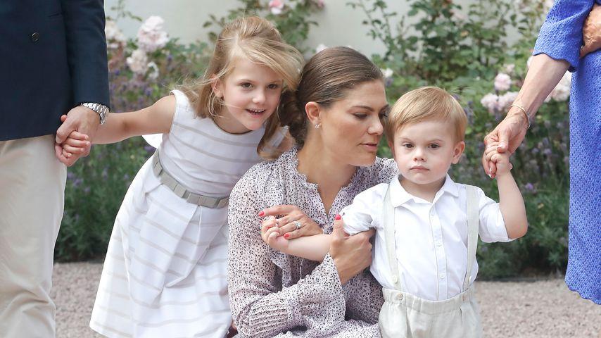 Prinzessin Victoria vermisst ihre zwei Kids, wenn sie reist
