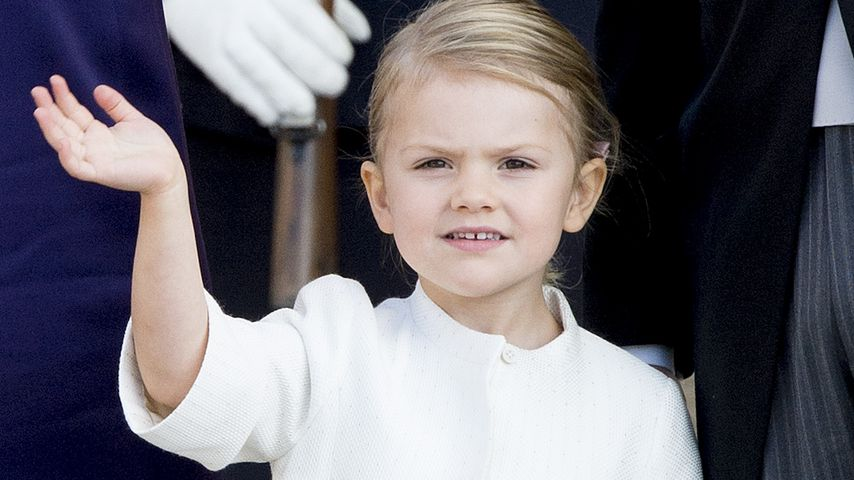 Mit 4 Jahren: Prinzessin Estelle zählt schon auf Englisch