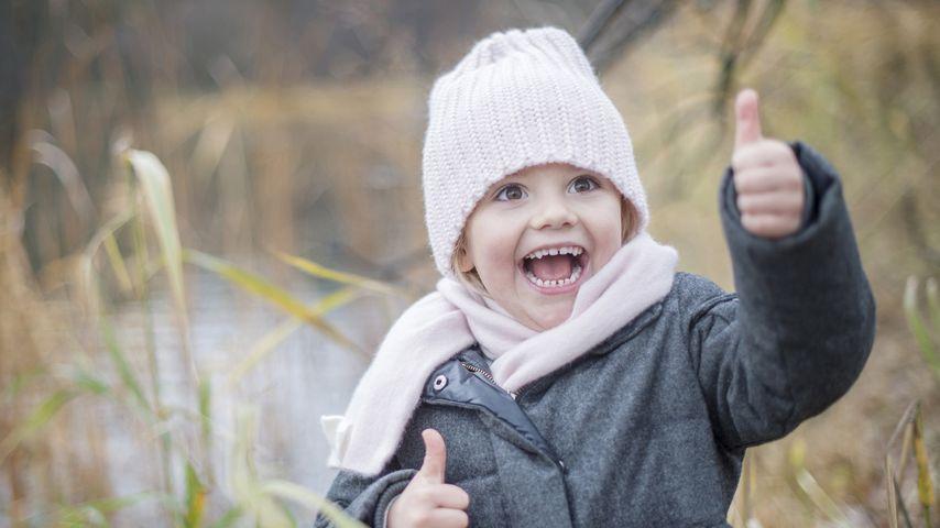 Schwedischer Wirbelwind: Prinzessin Estelle im Herbst-Fieber