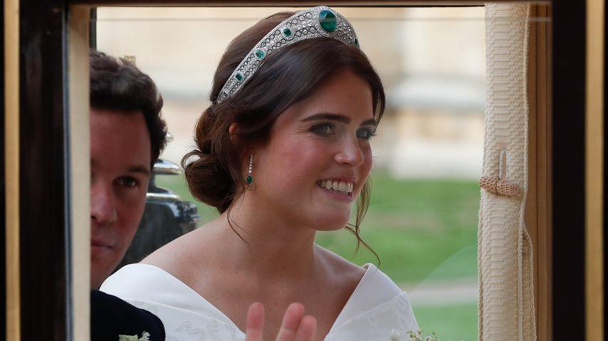 Prinzessin Eugenie an ihrem Hochzeitstag