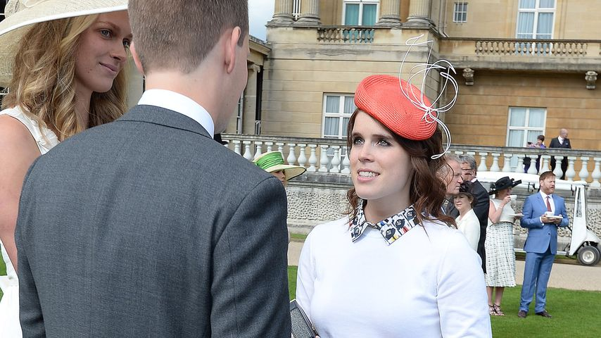 Fashion-Fehltritt? Prinzessin Eugenie im Horror-Dress