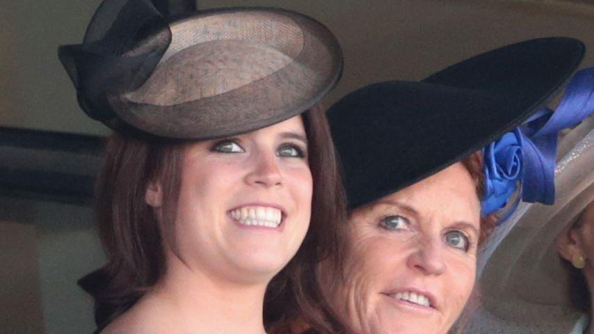 Prinzessin Eugenie und ihre Mutter Sarah Ferguson, 2015