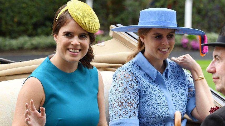 Prinzessin Eugenie und ihre Schwester Prinzessin Beatrice, Töchter von Prinz Andrew