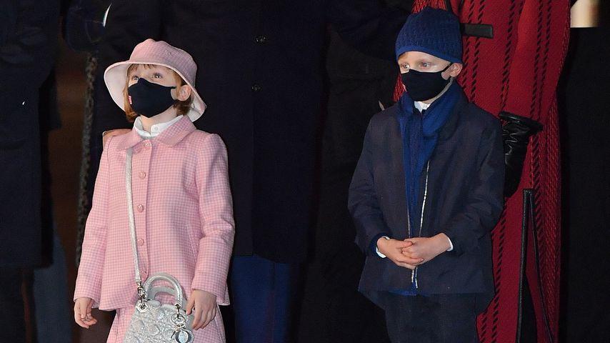Gabriella & Jacques von Monaco stehlen ihren Eltern die Show