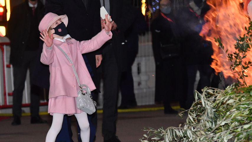 Prinzessin Gabriella von Monaco im Januar 2021