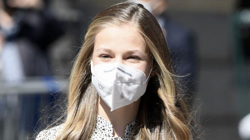 Premiere! Prinzessin Leonor (15) meistert Event ohne Eltern