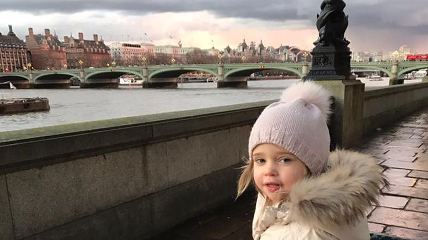 Royales Sight-Seeing: Mini-Prinzessin Leonore erobert London