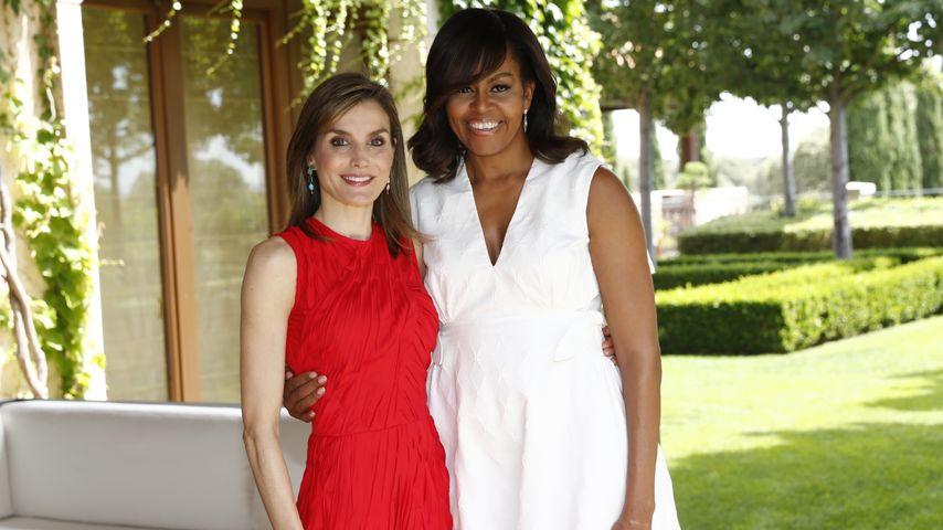 Mächtige BFFs: Michelle Obama & Königin Letizia in Madrid