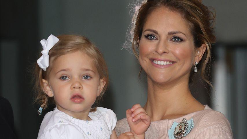 Sooo groß ist Prinzessin Madeleines Leonore schon!