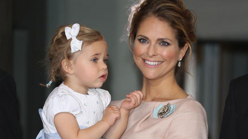 Prinzessin Madeleine von Schweden mit ihrer Tochter Prinzessin Leonore, 2017