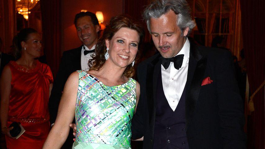 Prinzessin Märtha Louise & Ari Behn beim Hochzeitsdinner von Madeleine von Schweden & Chris O'Neill