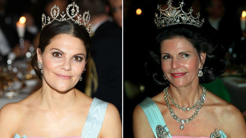 Beim Nobelpreis: Prinzessin Victoria trug Silvias Kleid!