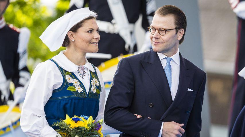 Prinzessin Victoria von Schweden und Prinz Daniel am schwedischen Nationalfeiertag im Juni 2016