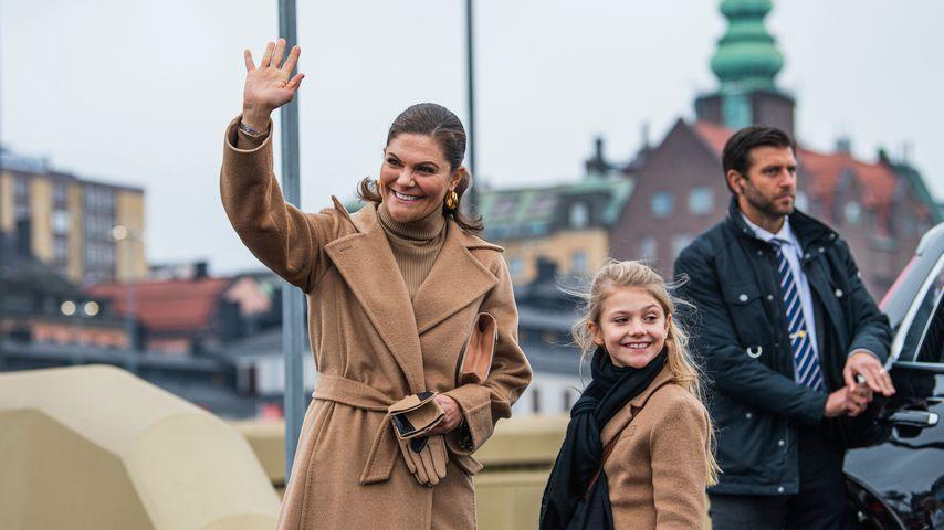Prinzessin Victoria von Schweden mit ihrer Tochter Estelle