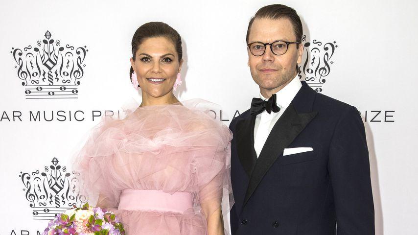 Prinzessin Victoria von Schweden und Prinz Daniel bei einer Preisverleihung in Stockholm