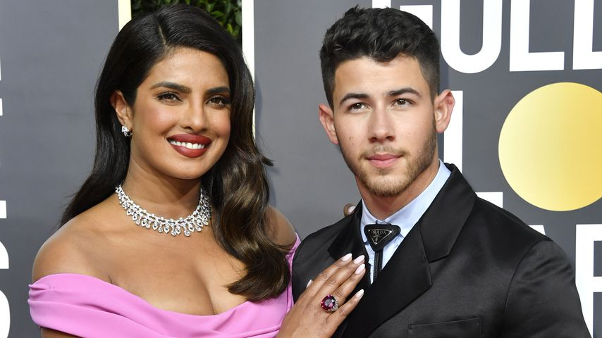 Priyanka Chopra Jonas und Nick Jonas bei den Golden Globes 2020