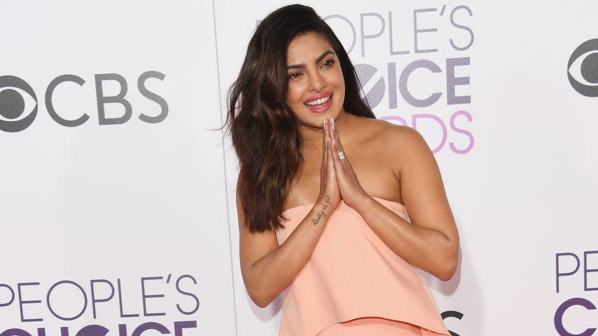 Wieder fit! Priyanka Chopra nach Unfall auf dem Red Carpet