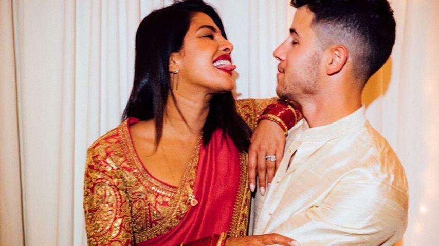 """""""Unglaublich"""": So süß schwärmt Nick Jonas von Frau Priyanka"""