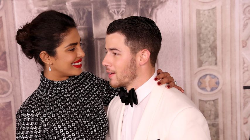 Priyanka Chopra und Nick Jonas auf der New York Fashion Week im September 2018