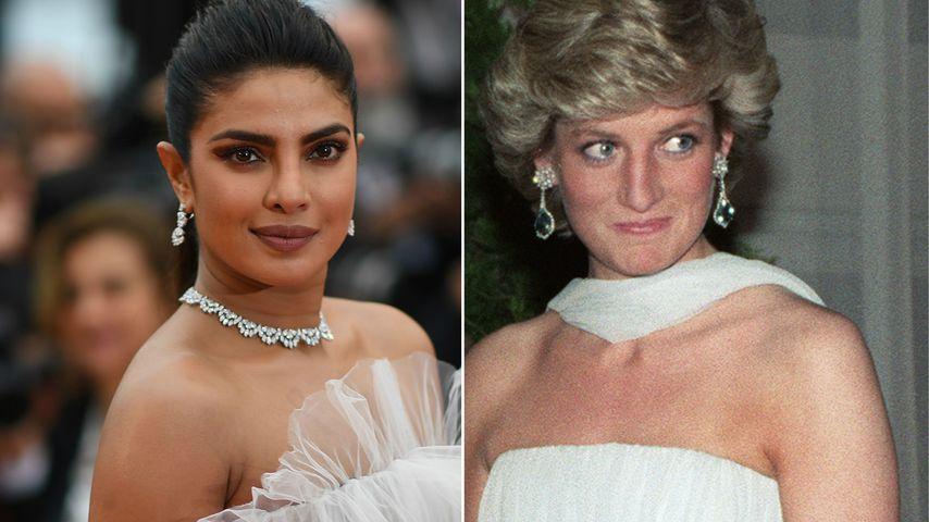 Ließ sich Priyanka für Cannes-Kleid von Lady Di inspirieren?