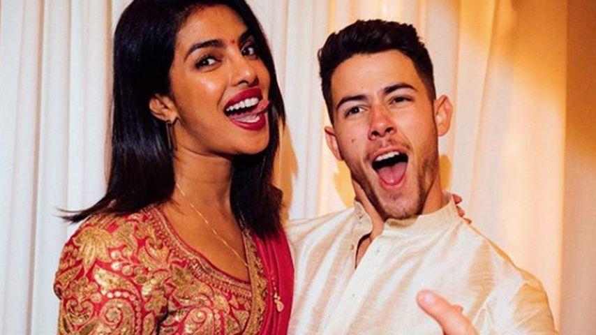 Priyanka und Nick Jonas